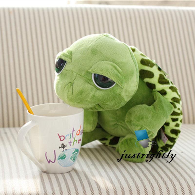 Mô hình rùa nhồi bông mắt to thiết kế dễ thương 20cm độc đáo