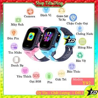 Đồng hồ thông mình định vị y92 trẻ em nghe gọi chụp ảnh - Đồng hồ y92 cảm ứng có camera hình ảnh HD
