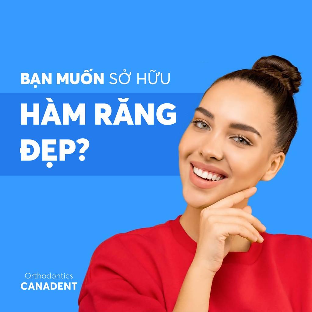 BỘ 3 NIỀNG RĂNG TẠI NHÀ CANADENT TRAINER ALIGNMENT TỪ CANADA, SET 3 CÁI