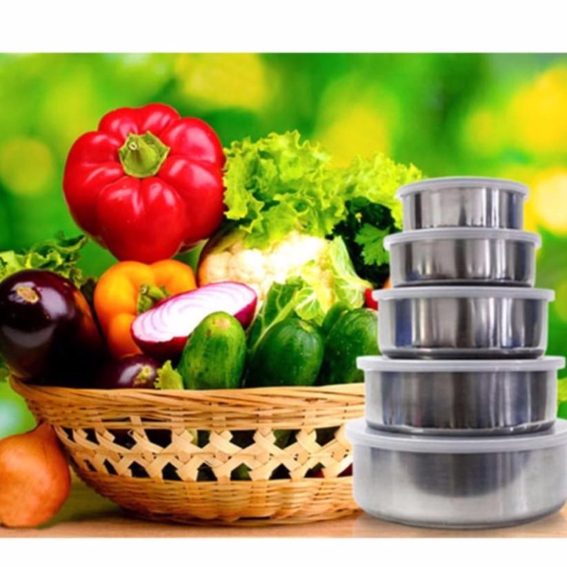 Bộ 5 hộp đựng thực phẩm có nắp Inox - 10015499 , 233345541 , 322_233345541 , 78900 , Bo-5-hop-dung-thuc-pham-co-nap-Inox-322_233345541 , shopee.vn , Bộ 5 hộp đựng thực phẩm có nắp Inox