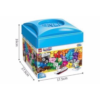 Bộ Lego nắp xanh 460 chi tiết