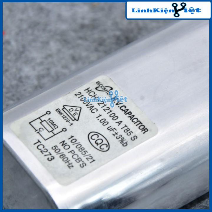 Tụ Lò Vi Sóng CH85-21100 1uF 2100VAC