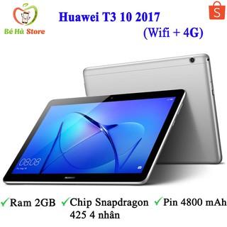 Máy Tính Bảng Huawei MediaPad T3 10 2017 (Wifi + 4G) – Zin Đẹp 99% – Ram 2Gb / Chip Snapdragon 425 4 nhân / Có nghe gọi