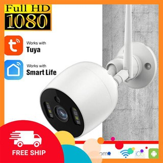 Camera Wifi An Ninh Tuya Smart Life Outdoor Ngoài Trời Chống Nước Nhận Dạng Khuôn Mặt FULL HD thumbnail