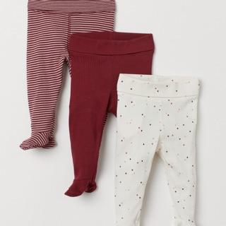 Set 3 quần leggings liền tất H&M