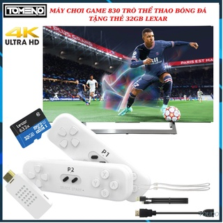 Máy Chơi Game Stick 4K - Y2 tomeno 30 trò chơi thể thao + 800 trò chơi 4 nút cổ điển kèm thẻ 32gb kết nối HDMI thumbnail
