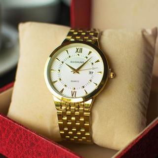 đồng hồ nam đẹp baishun BHF01 chống nước chống xước,tặng kèm vòng tì hưu