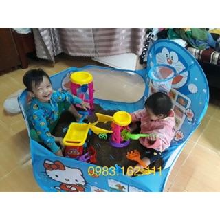 [Nhập TOYAPR10K giảm ngay 10K]Combo lều bóng+hạt+đồ chơi cho bé