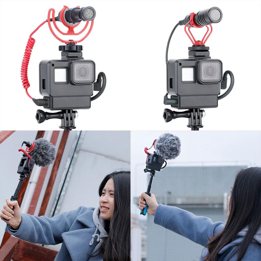 Vỏ bảo vệ bằng chất liệu PC tiện dụng cho máy quay GoPro Hero 7/6/5