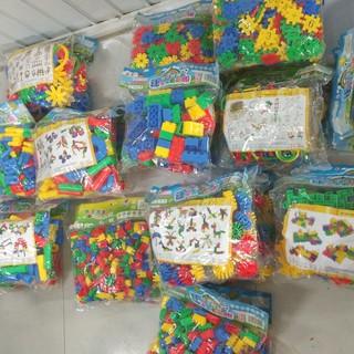 Bộ Lắp Ghép Bằng Nhựa Thông Minh Cho Bé