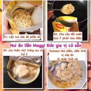 Nui ăn liền Maggi cho bé 9m+ nđ Đức (1 gói 3 phần ăn) 7