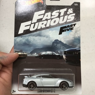 Hot Wheels GTR f&f