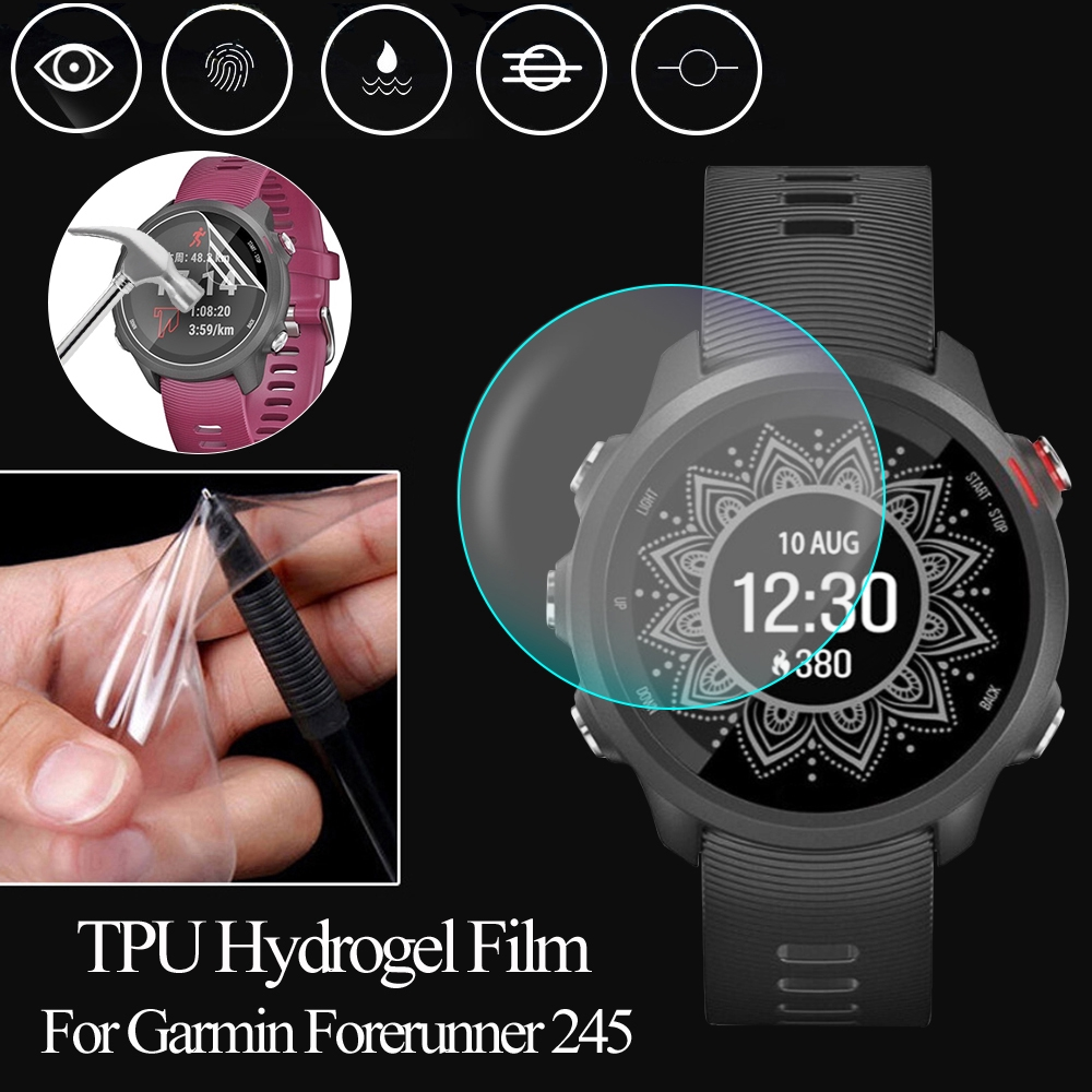 LETTER Ultra Thin Slim Smart Watch Explosion proof Accessories TPU Hydrogel Film