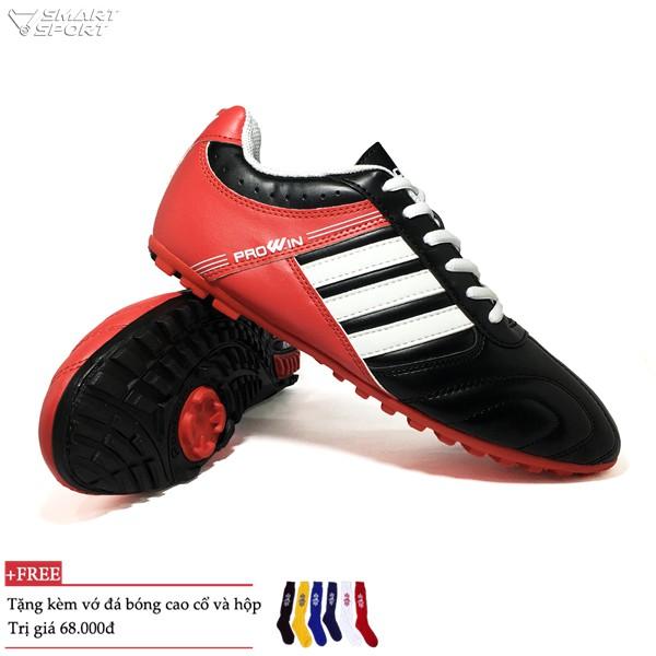 Giày đá bóng Prowin cao cấp đen - nhà phân phối chính từ hãng