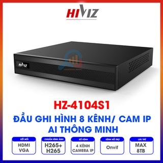 Đầu ghi hình Hiviz - HZ-4104S1 4 kênh camera IP, Chính hãng - Bảo hành 24 tháng thumbnail