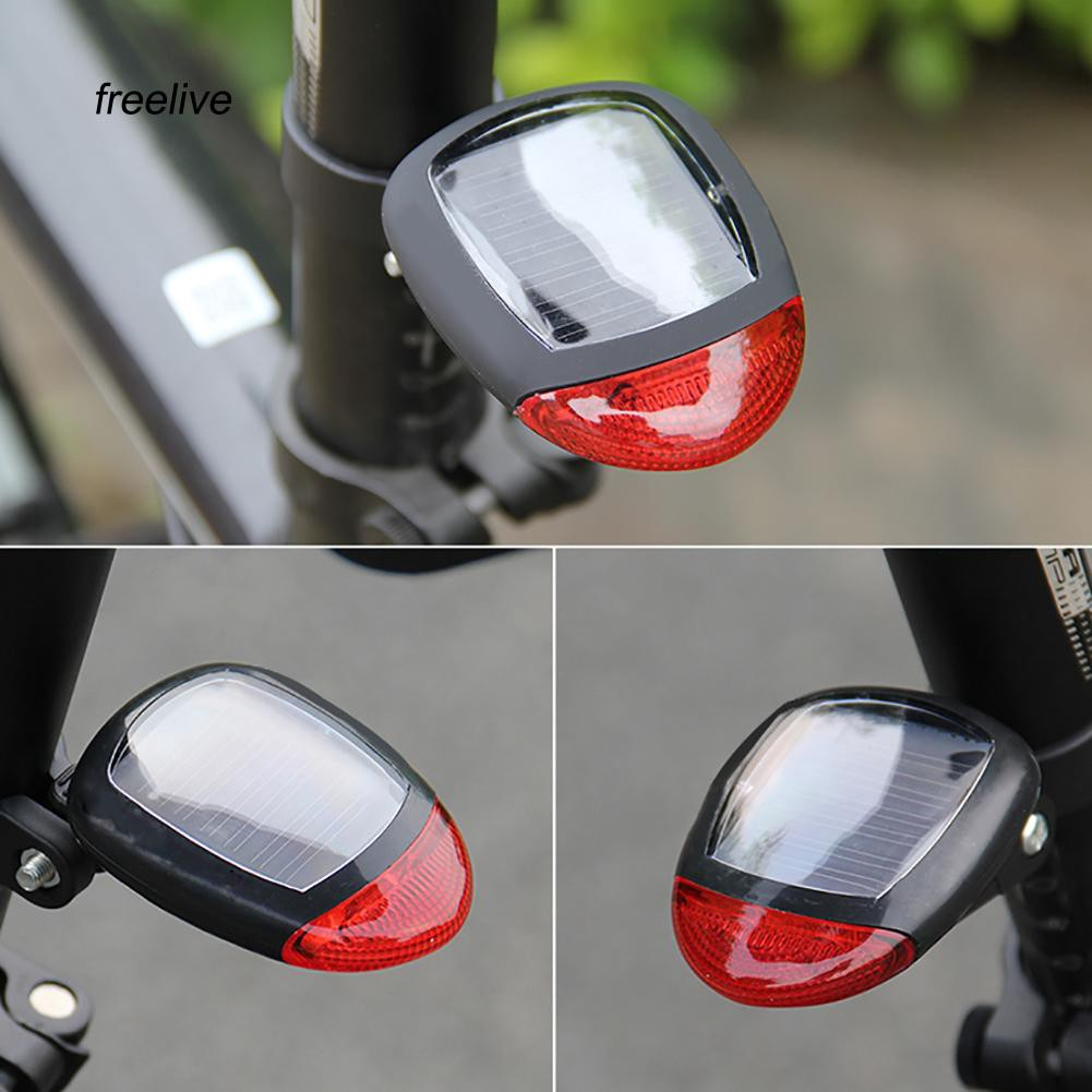 FLE_Bicycle LED Tail Light Self-powered Night Riding Cycling Warning Rear Lamps