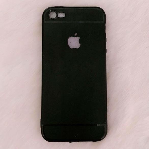 Ốp iPhone 5 / 5s / SE đen khoét táo