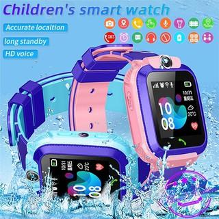 【Hỗ trợ tiếng việt】Đồng hồ thông minh Q12 cho trẻ em kết nối GPS / hiển thị hình ảnh / màn hình cảm ứng