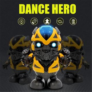 Tik Tok Transformers Yellow Bumble Bee Dance robot Hero Action Toy Popular Avengers Avengers Boy child Girl Toy