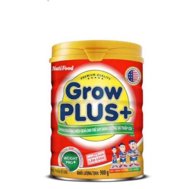 Sữa cho trẻ suy dinh dưỡng Grow Plus+ đỏ 900g
