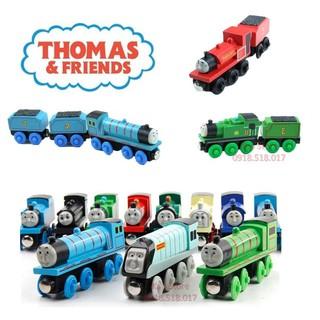 [Mã TOYFSS7 hoàn 20K xu đơn 50K] Bộ sưu tập đầu kéo xe lửa Thomas, sản phẩm chơi cùng đường ray xe lửa gỗ