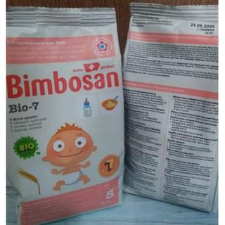 Túi bột ăn dặm Bimbosan Bio 7 cho bé từ 5 tháng 300g
