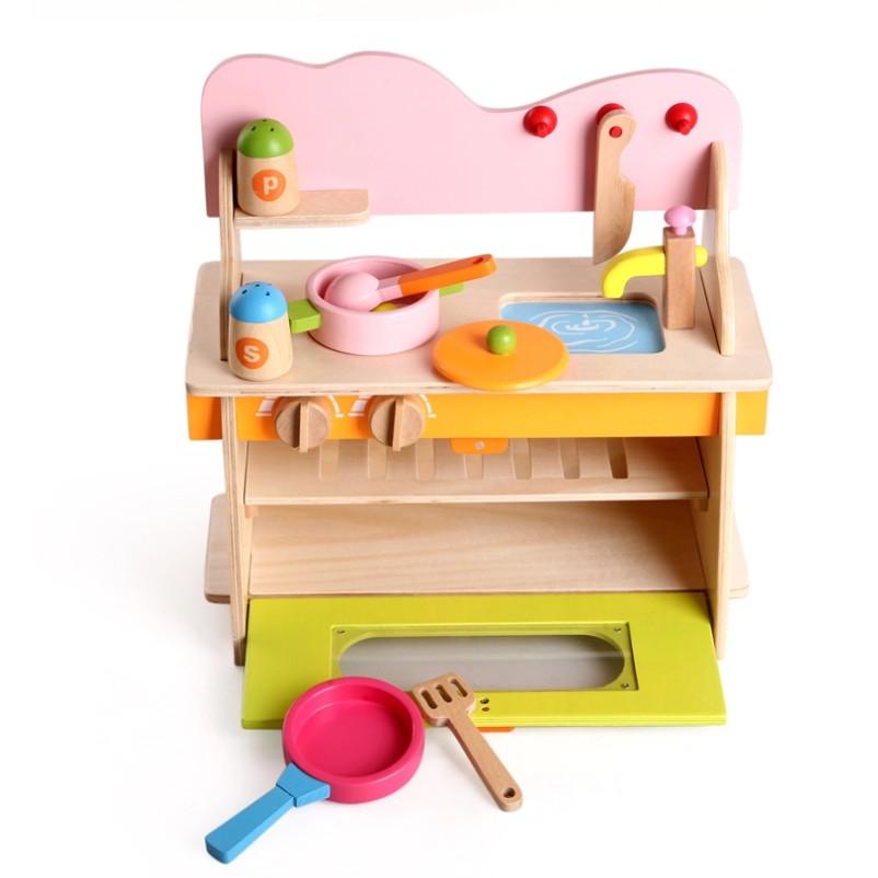 Bộ đồ chơi nhà bếp bằng gỗ cho bé - 2596156 , 389227174 , 322_389227174 , 689000 , Bo-do-choi-nha-bep-bang-go-cho-be-322_389227174 , shopee.vn , Bộ đồ chơi nhà bếp bằng gỗ cho bé
