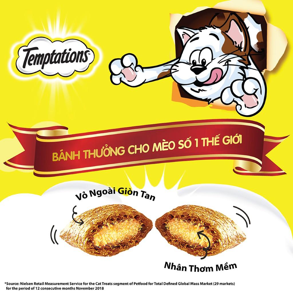 [Quà tặng] Bánh thưởng dành cho mèo Temptations vị gà 12g