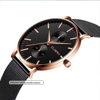 Đồng hồ nam CUENA doanh nhân đẳng cấp CUA03 viền thép siêu mỏng lịch lãm thumbnail