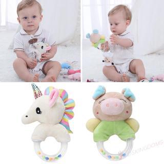Lục lạc đồ chơi hình thú nhồi bông đáng yêu dành cho các bé