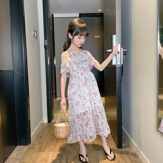 Đầm Voan hoa nhí cho bé MÃ 103