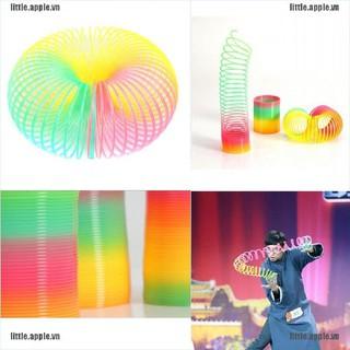 [Little] 1Pcs Magic Plastic Rainbow Springs Bounce Children FunToy [VN]