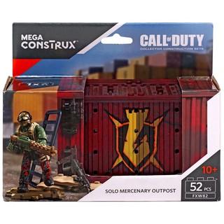 Mega construx Thùng Container đỏ một nhân vật .