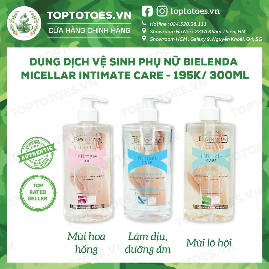 [Mã SKAMPUSH9 giảm 10% đơn 200K] Dung dịch vệ sinh phụ nữ Bielenda Micellar Intimate Care dịu nhẹ, ngừa viêm