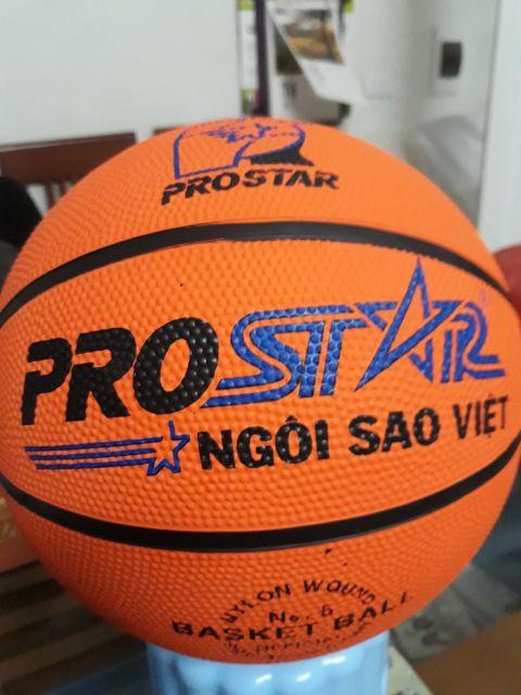 (Chính hãng) Quả bóng rổ ⚡️ 𝐅𝐑𝐄𝐄 𝐒𝐇𝐈𝐏 ⚡️ Prostar cao su siêu bền phù hợp mọi mặt sân size 5,6,7 p(tặng kim + túi lưới)