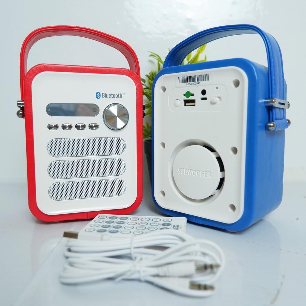 Loa mini xách tay. Loa Bluetooth Nghe Nhạc, Học Tiếng Anh - Máy Nghe MP3 Hỗ Trợ Học Tiếng Anh - Đài Học Ngoại Ngữ