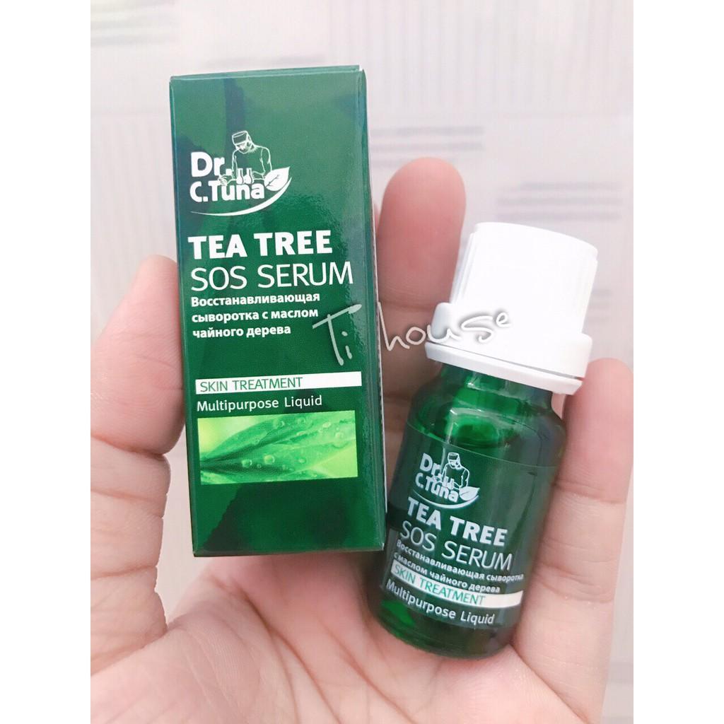 Tea Tree SOS serum - đặc biệt cho da mụn