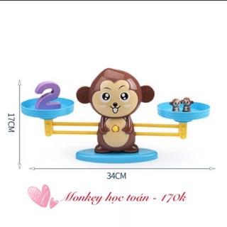 Cân Monkey học toán