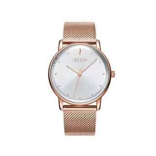 [Mã FABRR5503 giảm 20% đơn 249K] Đồng hồ nam JA-1238MB Julius Hàn Quốc dây thép (đồng mặt trắng)
