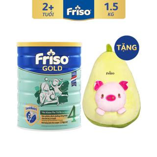 [Mã FMCGFEB21 giảm 8% đơn 250K] [ĐỘC QUYỀN SHOPEE - Tặng Quả Bơ Nhồi Bông] Sữa Bột FRISO GOLD 4 1500g thumbnail