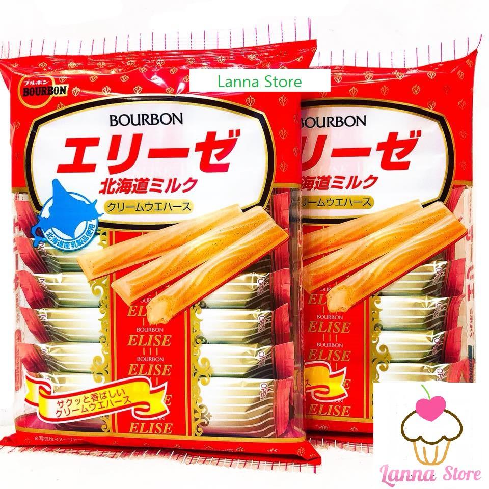 Bánh quế nhân kem tươi Bourbon - hàng xách tay Nhật Bản ??.