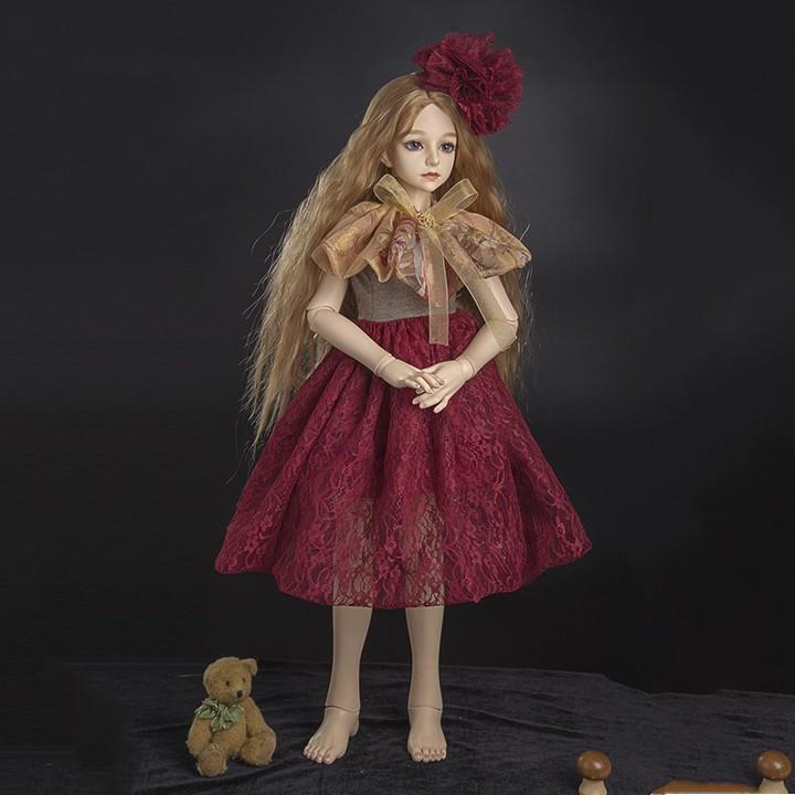 Bộ quần áo búp bê BJD Yelouli 30cm, 60cm - Đầm ren đỏ kèm nón - 3484477 , 817895567 , 322_817895567 , 49999 , Bo-quan-ao-bup-be-BJD-Yelouli-30cm-60cm-Dam-ren-do-kem-non-322_817895567 , shopee.vn , Bộ quần áo búp bê BJD Yelouli 30cm, 60cm - Đầm ren đỏ kèm nón