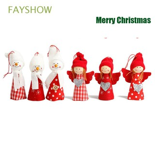 Cute Festival Kids Gift Snowman New Year Merry christmas dolls
