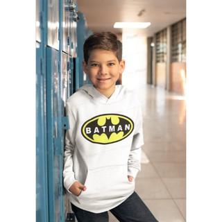 Áo khoác hoodie hình batman cho bé trai từ 4-14 tuổi thumbnail