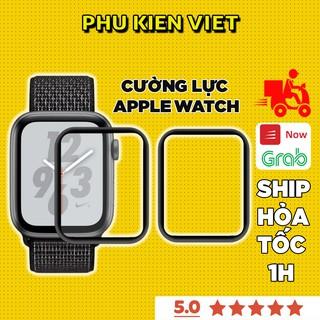 Cường lực apple watch dẻo full màn cong 3d dành cho series SE/6/5/4/3/2/1 size 38/40/42/44mm - Phụ Kiện Việt