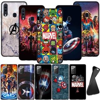 Ốp Điện Thoại Silicon Mềm Hình Marvel Avengers Endgame Thanos Cho Oppo A92 A72 A52 A39 A57 A83 A1 A77 F3 A1K