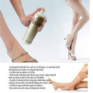 [ ] Tất phun thông minh Stocking che phủ chân cực mạnh, xịt 1 phát body trắng n, chống nướcmị thumbnail