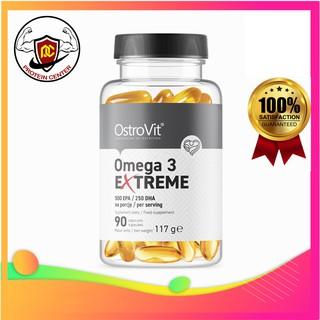 Dầu Cá Cô Đặc Ostrovit Omega 3 Extreme 500 EPA / 250 DHA (90 Viên) – Protein Center