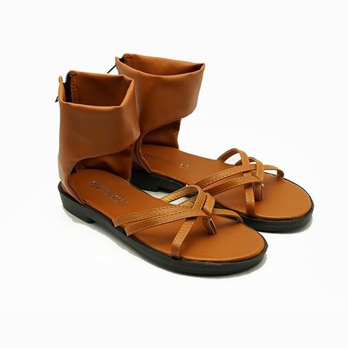 Giày sandal đế bệt nữ Cindydrella c321