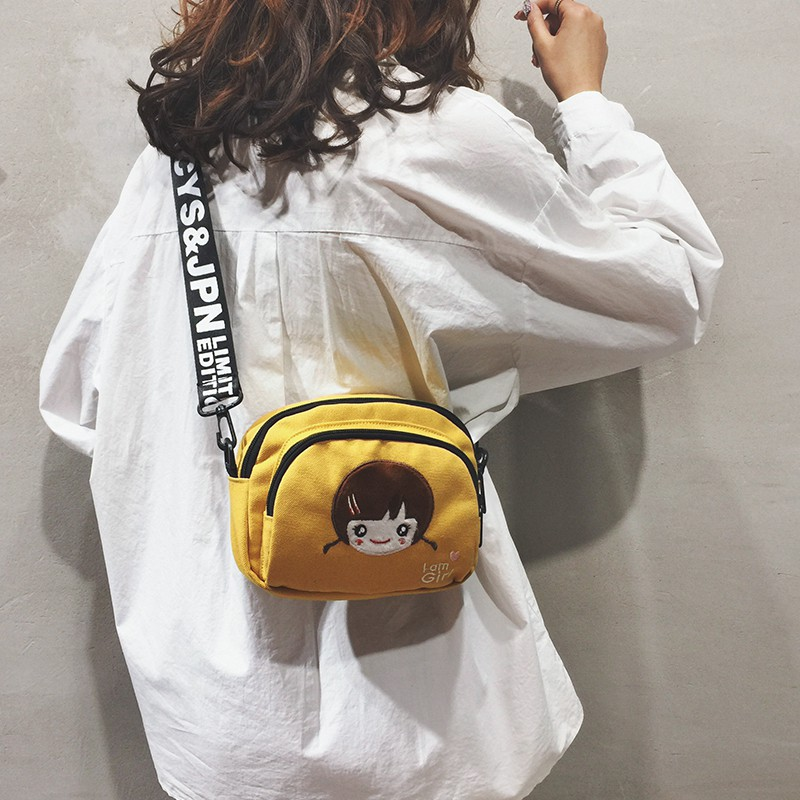 Cute small bag female bag 2019 new cartoon girl small round
